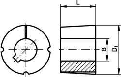 taperlockbuchse