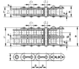 roller chain straight plates