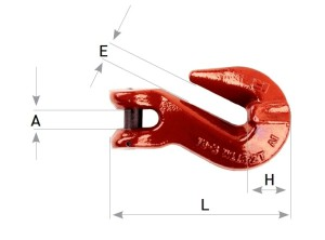 clevis grab shortening hook grade 80