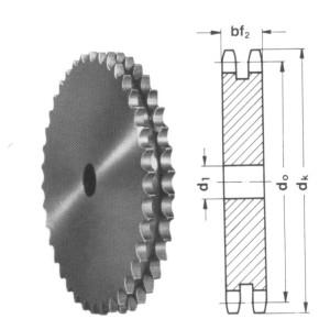 duplex platewheel