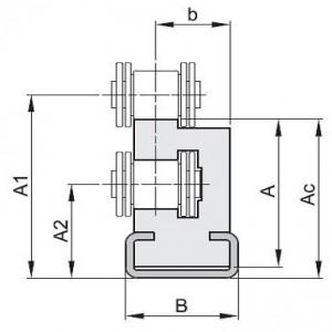 """A-RC"" profiel voor simplex kettingen"