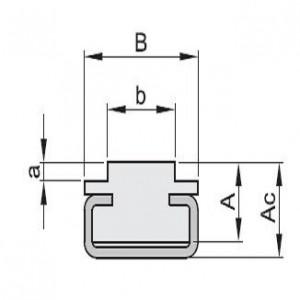 """""""CT"""" profiel voor simplex kettingen"""