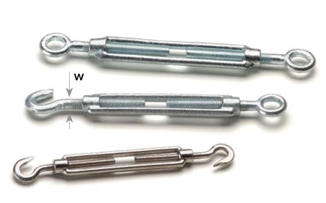turnbuckles acc. to DIN 1480